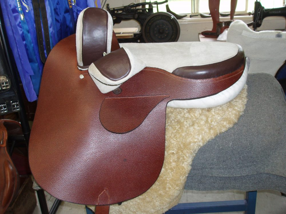 Light brown Side Saddle