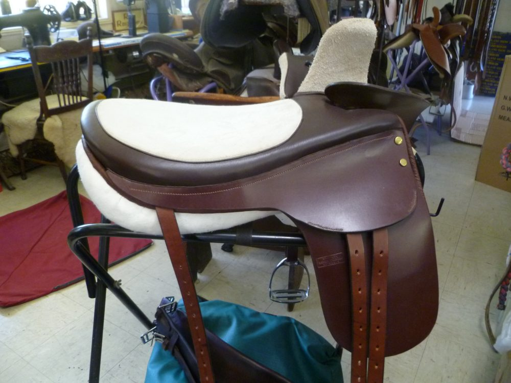 New brown Side Saddle